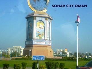 Oman is a country pockmarked with Rounabouts.Sohar roundabout is eye-catching when you happen to pass by this most developed City in Oman.30 Min away from where I used to work in Kahboura in 2011