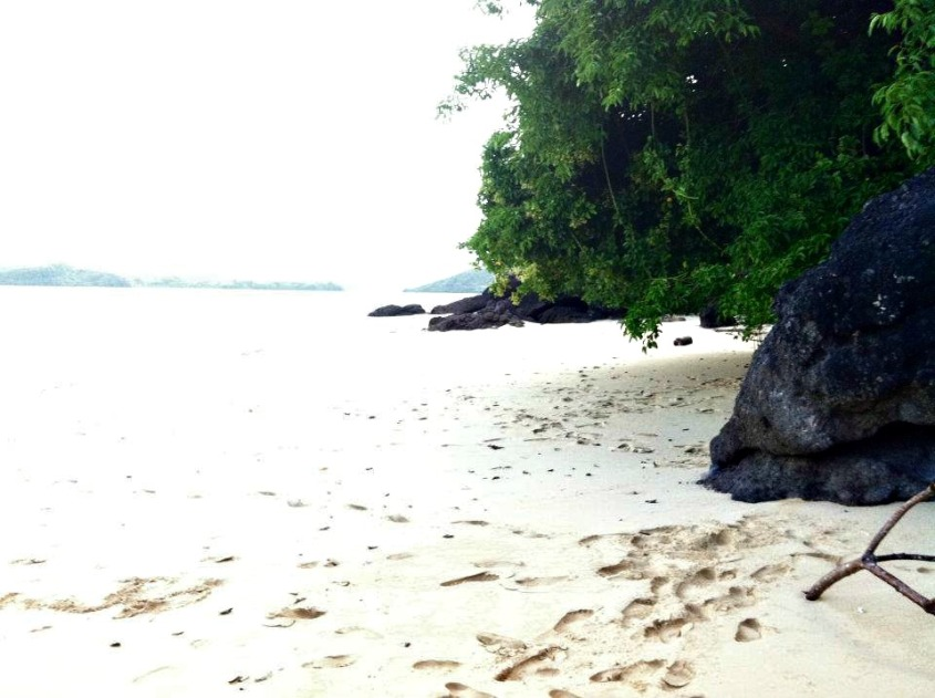 Caramoan Island-White Sandy Beach in the Bicol Region