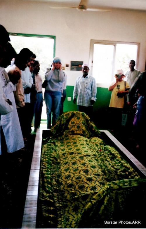 Visited in 2004 at Salalah