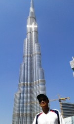 The Burj Tower is now presently named The Burj Khalifa Tower.
